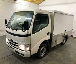2012 TOYOTA DYNA 3.0 D-4D 300 SWB 2DR SPECIALIST VEHICLE DIESEL MANUAL