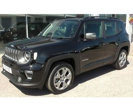 2021 JEEP RENEGADE 1.3 GSE LIMITED PHEV - £32,495