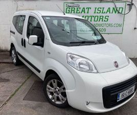 FIAT QUBO 1.2 DYNAMIC MPV DIESEL MANUAL (75BHP) FOR SALE IN CORK FOR €9,950 ON DONEDEAL