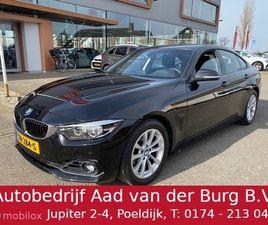 BMW 418I 136PK AUT. GRAN COUPÉ EXECUTIVELINE NAVI-/PARKEER-/LED-PACK, € 23.750,- EX BTW