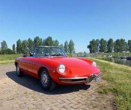 NIEUWE PRIJS: 1969 ALFA ROMEO SPIDER 1750 DUETTO