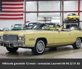 500CI V8 CABRIOLET 1975 PRIX TOUT COMPRI