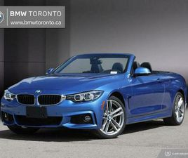 2018 BMW 440I XDRIVE CABRIOLET | LOW KMS | M SPORT | ENHANCED | CARS & TRUCKS | CITY OF TO