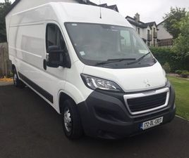172 PEUGEOT BOXER PROF 335 L3 H2 130BHP FOR SALE IN DONEGAL FOR €13,000 ON DONEDEAL