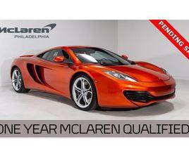 2012 MCLAREN 12C BASE