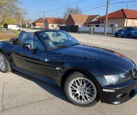 ELADÓ HASZNÁLT BMW Z3 3.0 WIDEBODY!M-SPORT PAKETÚJSZERŰ ÁLLAPOT!, 2001/10, FEKETE (METÁL)