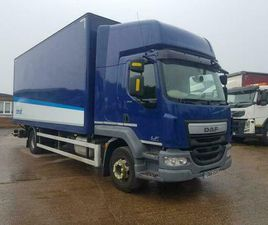 DAF LF 250, 2016/66REG, 22FT BOX BODY TRUCK OR CAB CHASSIS, EURO 6, 16 TON