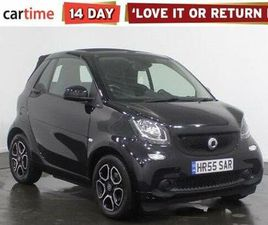 2018 SMART FORTWO 0.9 PRIME (89BHP) (S/S) CABRIOLET - £10,750