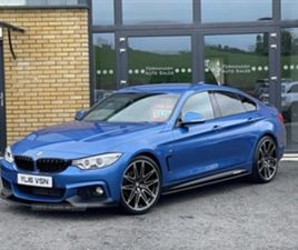USED 2016 BMW 4 SERIES GRAN COUPE M SPORT A COUPE 45,000 MILES IN BLUE FOR SALE   CARSITE