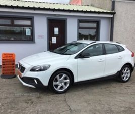 USED 2015 VOLVO V40 CROSS COUNTRY LUX D2 HATCHBACK 66,672 MILES IN WHITE FOR SALE | CARSIT