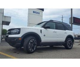 USED 2021 FORD BRONCO SPORT OUTER BANKS