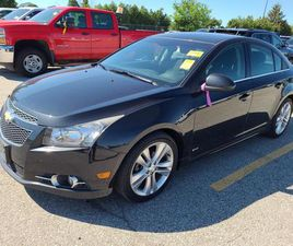 USED 2012 CHEVROLET CRUZE 2LT BLUE-TOOTH! NO ACCIDENTS! COMING SOON!
