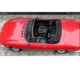 FIAT DINO DE 1967, SPIDER 2000CC 5000 KM. ROUGE INTÉRIEUR C