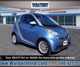 BLUE COLOR 2014 SMART FORTWO ELECTRIC DRIVE FOR SALE IN WALDORF, MD 20601. VIN IS WMEEJ9AA