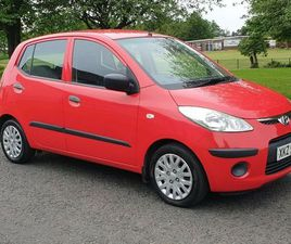 SEP 2009 HYUNDAI I10 CLASSIC 67000 MILES MOTED 22/9/2021 £30 TAX EXCELLENT CONIDTION INSID