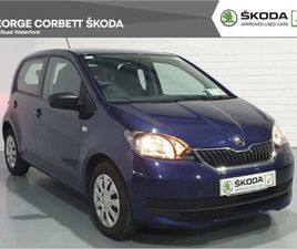 SKODA CITIGO ACTIVE 1.0MPI 60HP 5DR 2 YEAR SKODA FOR SALE IN WATERFORD FOR €9,495 ON DONED