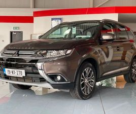 MITSUBISHI OUTLANDER 2.2 DSL 4WD 7 SEATER INSTYLE FOR SALE IN WATERFORD FOR €32,950 ON DON
