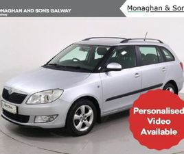 SKODA FABIA CO AMBITION 1.2 TSI 86BHP 4DR FOR SALE IN GALWAY FOR €7,950 ON DONEDEAL