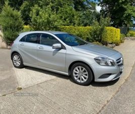 USED 2015 MERCEDES-BENZ A CLASS BLUEEFFICIENCY SE CD HATCHBACK 73,000 MILES IN SILVER FOR