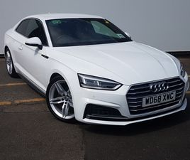 USED 2019 (68/19) AUDI A5 40 TFSI S LINE 2DR S TRONIC IN CLYDEBANK