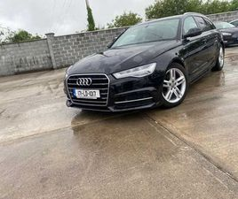 AUDI A6 // S-LINE // 190 BHP // FOR SALE IN LONGFORD FOR €22,500 ON DONEDEAL
