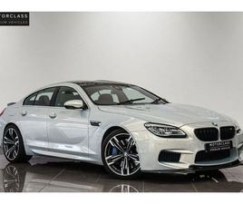 BMW 4.4 M6 GRAN COUPE 4D 553 BHP SOFT CLOSE + ADAPTIVE SUSPENSION