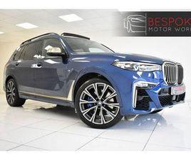 BMW X7 M50D 3.0 5 DOOR **£999 A MONTH WITH £5810 DEPOSIT**