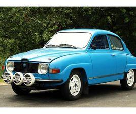 1970 SAAB 96 V4 RALLY CAR