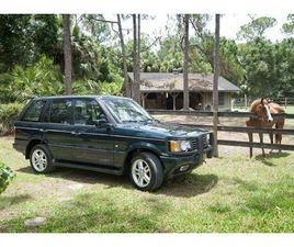 2000 LAND ROVER RANGE ROVER HOLLAND AND HOLLAND