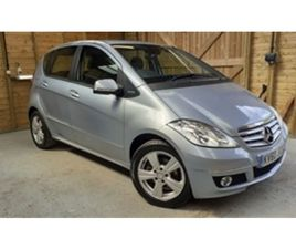 USED 2010 MERCEDES-BENZ A CLASS A180 BLUEEFFICIENCY AVANTGARDE SE HATCHBACK IN BLUE FOR SA