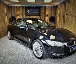 2015 BMW 4 SERIES 2.0TD 420D LUXURY (184BHP) CONVERTIBLE 2D AUTO - £19,990