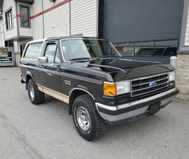 BRONCO EDDIE BOWER 4X4 ALL ORIGINAL NEVER SEEN WINTER LIKE NEW!   CLASSIC CARS   CITY OF T