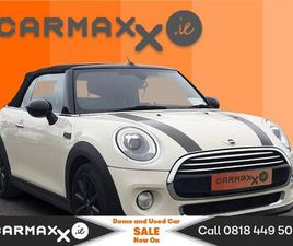 MINI COOPER D CONVERTABLE 2DR FOR SALE IN CORK FOR €19,995 ON DONEDEAL