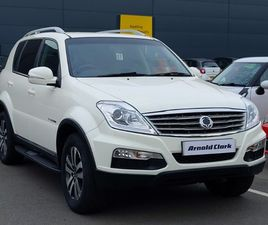 USED 2015 (15) SSANGYONG REXTON DIESEL 270 CS 5DR AUTO IN CHESTERFIELD