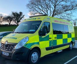 DEPOSIT TAKEN AMBULANCE FOR SALE IN MAYO FOR €24,000 ON DONEDEAL