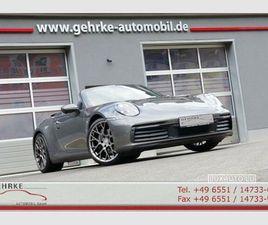 PORSCHE 992 CABRIOLET 3.0 CARRERA 2 PDK GRIS D'OCCASION, MOTEUR ESSENCE ET BOITE AUTOMATIQ