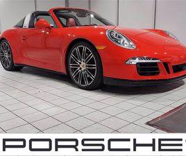 USED 2015 PORSCHE 911 TARGA 4S