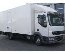 DAF LF45 160 CLOSED BOX L6.00 B2.50 H 2.42 SHIFTS ONLY MANUAL NOT AUTOMATIC !!