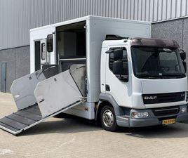 DAF LF45-160 / PAARDENVERVOER / ONLY 83.791 KM / EX OVERHEID / EURO5 EEV / LIKE NEW / NL T