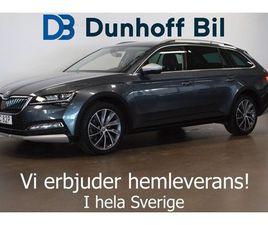 SKODA SUPERB SCOUT TDI 190 4X4 DSG SCOUT VÄRMARE DRAG CANTON