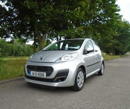 2014 PEUGEOT 107, ACTIVE 1.0 - NCT 11/23 + FSH FOR SALE IN DUBLIN FOR €7,950 ON DONEDEAL