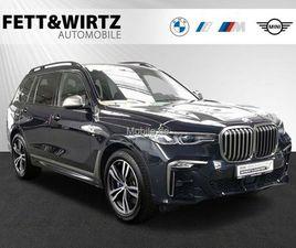 BMW X7 M50D STANDHZG. SKYLOUNGE AHK HUD H/K