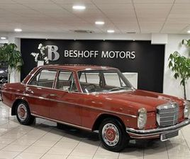 W114 2.8 PETROL AUTO..LOW MILEAGE//EXTENSIVE SERVICE HISTORY FILE TO INCLUDE RECEIPTS..RAR