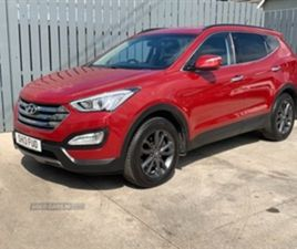 USED 2013 HYUNDAI SANTA FE PREMIUM CRDI NOT SPECIFIED 78,000 MILES IN RED FOR SALE | CARSI