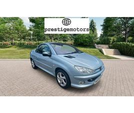 PEUGEOT 206 1.6 ALLURE 2DR [AC]*ONE LADY OWNER*ONLY 28,000MILES**LEATHER*AIR CON*