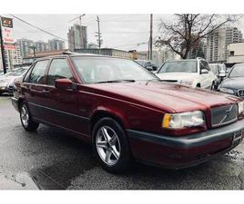 1995 VOLVO 850 LIMITED, NEW TIMING BELT, NEW WATER PUMP, NEW COIL ETC