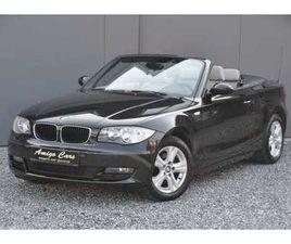 BMW 118 1 CABRIO-LEDER-PARKEERSENSOREN-AIRCO-MULTISTUUR