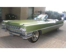 CADILLAC DEVILLE CABRIO IN MOOIE ORGN STAAT