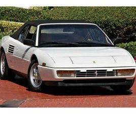 1989 FERRARI MONDIAL T CABRIOLET 3.4 L BENZ. V8 300KM