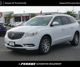 WHITE COLOR 2017 BUICK ENCLAVE CONVENIENCE FOR SALE IN TURNERSVILLE, NJ 08012. VIN IS 5GAK